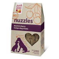 The Honest Kitchen Nuzzles Duck & Cherry Recipe Dog Treats