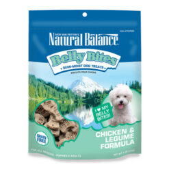 Natural Balance Belly Bites Chicken & Legume Formula Grain-Free Dog Treats