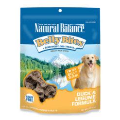 Natural Balance Belly Bites Duck & Legume Formula Grain-Free Dog Treats