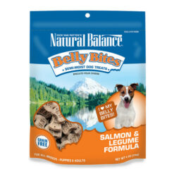 Natural Balance Belly Bites Salmon & Legume Formula Grain-Free Dog Treats
