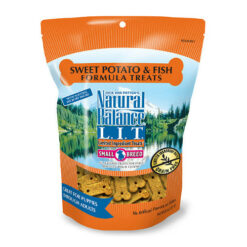 Natural Balance L.I.T. Limited Ingredient Treats Sweet Potato & Fish Formula Dog Treats