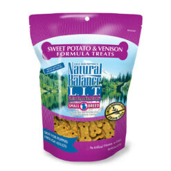 Natural Balance L.I.T. Limited Ingredient Treats Sweet Potato & Venison Formula Dog Treats