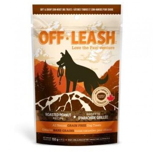 Complete Natural Nutrition Buddy's Kitchen Off-Leash Roasted Peanut Grain Free Dog treats