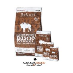 PetKind Green Tripe & Bison Formula Dry Dog Food