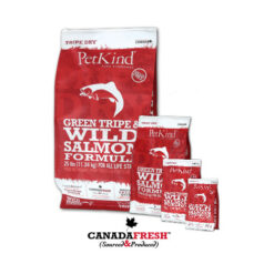 PetKind Green Tripe & Wild Salmon Formula Dry Dog Food