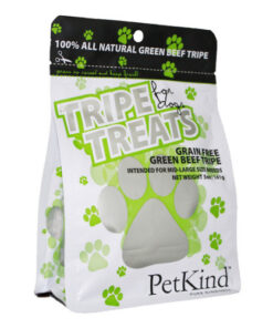 PetKind Grain-Free Green Beef Tripe Original Dog Treats