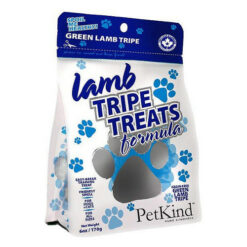 PetKind Grain-Free Green Lamb Tripe Formula Dog Treats