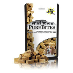PureBites Bison Liver Freeze-Dried Dog Treats