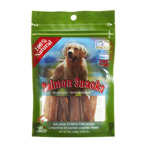 Snack 21 Salmon Snacks for Dogs