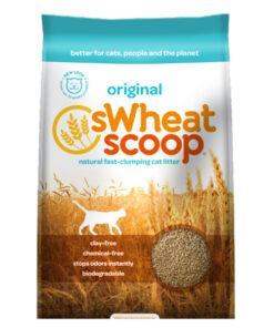 Swheat Scoop Original Natural Clumping Wheat Cat Litter