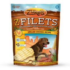 Zuke's Z-Filets Grilled Chicken Recipe Dog Treats
