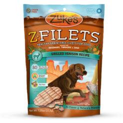 Zuke's Z-Filets Grilled Venison Recipe Dog Treats