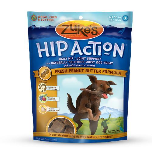 Zuke's Hip Action Peanut Butter Formula Dog Treats