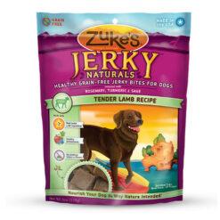 Zuke's Jerky Naturals Tender Lamb Recipe Dog Treats
