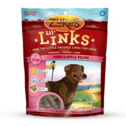 Zuke's Lil' Links Pork & Apple Recipe Dog Treats