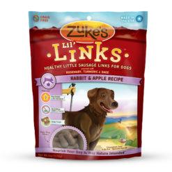 Zuke's Lil' Links Rabbit & Apple Recipe Dog Treats