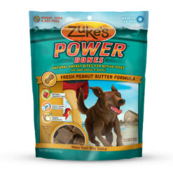 Zuke's Power Bones Fresh Peanut Butter Formula Dog Treats