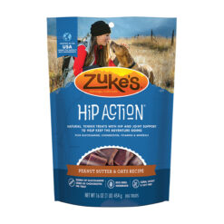 Zuke's Hip Action Peanut Butter Formula Dog Treats