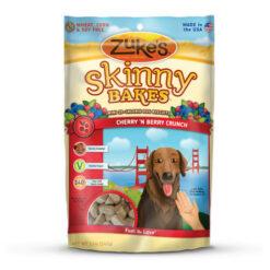 Zuke's Skinny Bakes Cherry 'N Berry Crunch Dog Treats