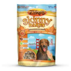 Zuke's Skinny Bakes Pumpkin & Sweet Potato Crunch Dog Treats
