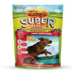 Zuke's Super Yummy Berry Blend Dog Treats