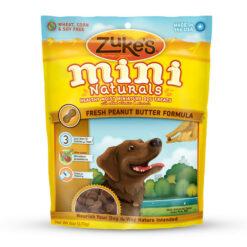 Zuke's Mini Naturals Fresh Peanut Butter Formula Dog Treats