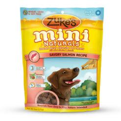Zuke's Mini Naturals Savory Salmon Recipe Dog Treats