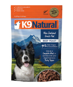 K9 Natural Beef Feast Raw Grain-Free Freeze-Dried Dog Food