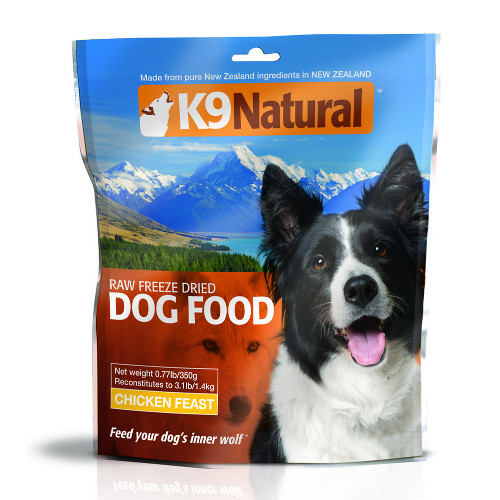 K9 Natural Chicken Feast Raw Freeze-Dried Dog Foods