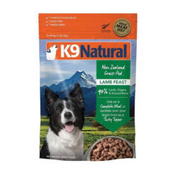 K9 Natural Lamb Feast Raw Grain-Free Freeze-Dried Dog Food