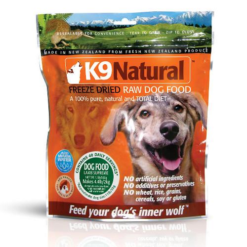 K9 Natural Lamb Feast Raw Freeze-Dried Dog Foods