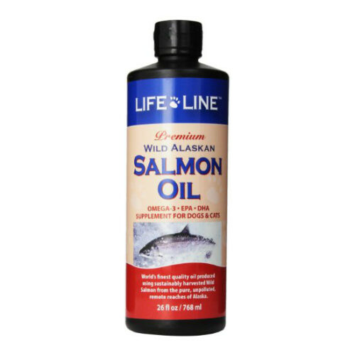 Life Line Wild Alaskan Salmon Oil for Dogs and Cats