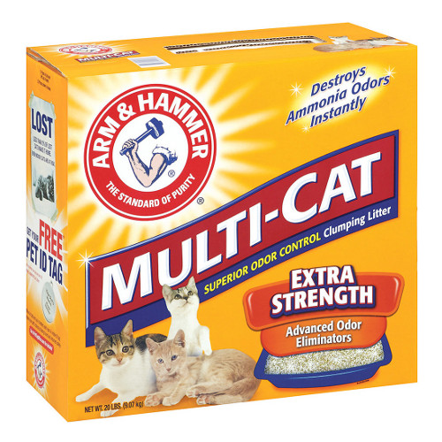 Arm & Hammer Multi-Cat Strength Fresh Scent Clumping Litter