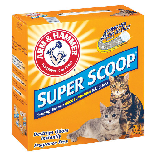 Arm & Hammer Super Scoop Fragrance-Free Clumping Litter