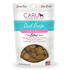 Caru Natural Duck Recipe Bites Dog Treats