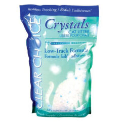Clear Choice Low Track Silica Crystals Cat Litter