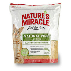 Nature's Miracle JFC Natural Pine Cat Litter