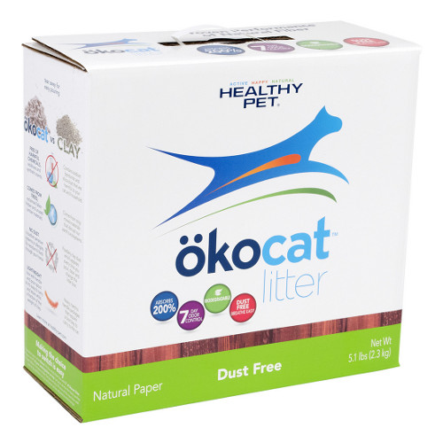 Okocat Natural Paper Dust Free Cat Litter