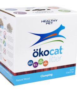 Okocat Natural Wood Clumping Cat Litter
