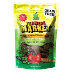 Plato Farmers Market Chicken & Vegetables Grain-Free Dog Treats