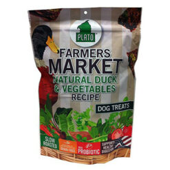 Plato Farmers Market Duck & Vegetables Grain-Free Dog Treats