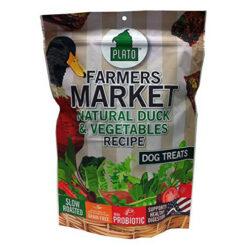 Plato Farmers Market Duck & Vegetables Grain-Free Dog Treats