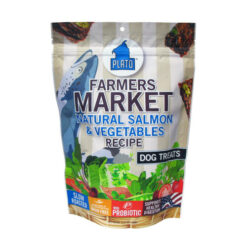 Plato Farmers Market Salmon & Vegetables Grain-Free Dog Treats