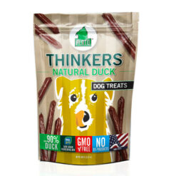 Plato Thinkers Natural Duck Sticks Dog Treats