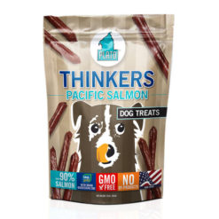 Plato Thinkers Pacific Salmon Sticks Dog Treats