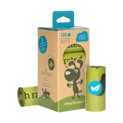 Earth Rated Poop Bag Refills Unscented 8 Rolls