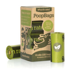 Earth Rated PoopBags Refill Pack, 120 bags, scented
