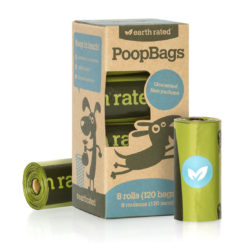Earth Rated PoopBags Refill Pack, 120 bags, unscented