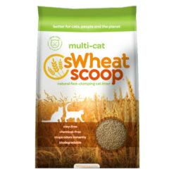 Swheat Scoop Multi-Cat Natural Wheat Cat Litter