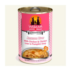 Weruva Amazon Liver with Chicken & Chicken Liver in Pumpkin Soup Canned Dog Food